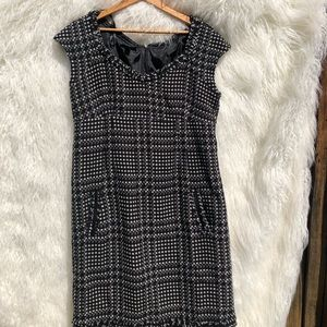 Houndstooth AGB dress size 14 w/pockets